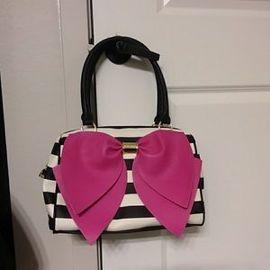 BETSEY JOHNSON purse.  Retro punk.